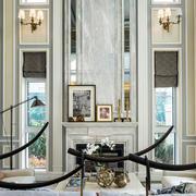 美式复古别墅奢华客厅装饰