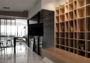 幸福扁舟:纯净洁白的跃层式住宅装修效果图大全