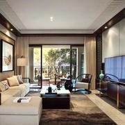 后现代风格新房客厅背景墙装饰