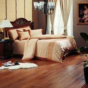 美式复古卧室地板设计