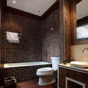 东南亚风格卫浴瓷砖装饰