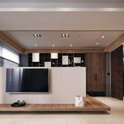 日式新房简约电视背景墙设计