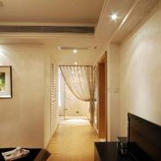 三室一厅简约风格吊顶设计