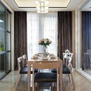三室两厅简约风格餐厅吊顶设计