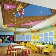 幼儿园教室吊顶装饰