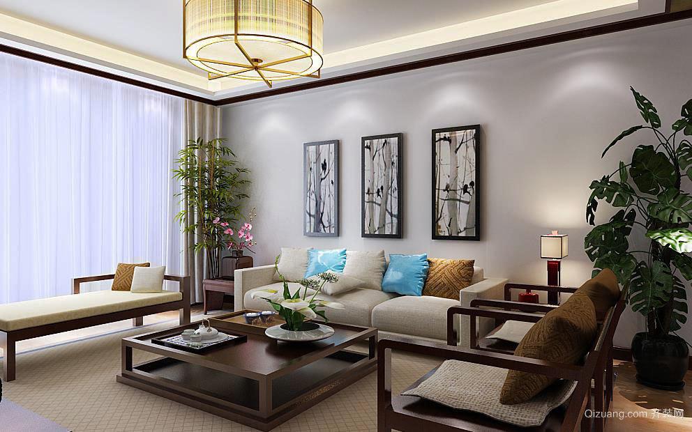 中式风格的客厅装修 古老文化的传承