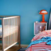 美式儿童房婴儿床装饰