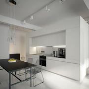 loft风格创意内嵌式吧台装饰