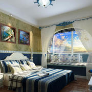 卧室创意飘窗效果图