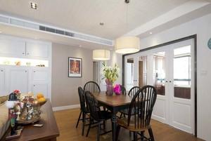 采光充足的130平米现代三室两厅两卫室内装修设计效果图