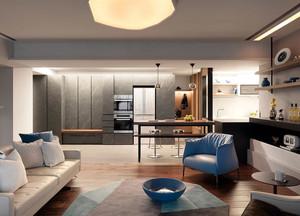 别墅现代理性风格客厅装饰