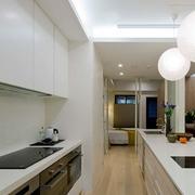 小户型一字型厨房设计