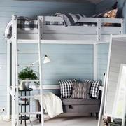 美式风格卧室上下铺装饰