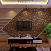 欧式简约风格客厅背景墙