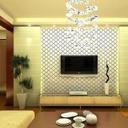 欧式暖色调背景墙装饰