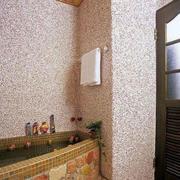 卫浴瓷砖装饰效果图