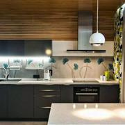 后现代风格公寓厨房装饰