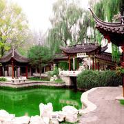 中式园林凉亭装饰