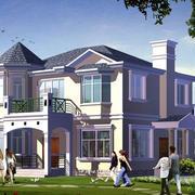 高大系列乡村别墅设计