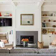 美式样板房客厅设计