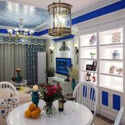 地中海简约餐厅灯饰设计