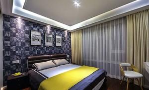 提高睡眠质量的时尚精美卧室床装修效果图