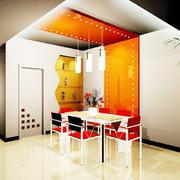 现代简约风格家居餐桌设计