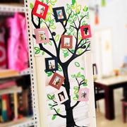 儿童房专用照片墙装饰