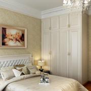 欧式风格卧室整体衣柜装饰