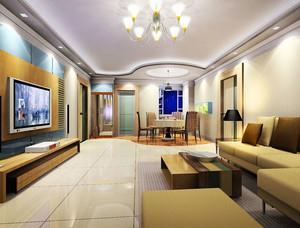 大理石客厅地板装饰
