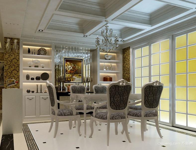 户小但精致:完美家居小户型家装欧式餐厅装修效果图鉴赏