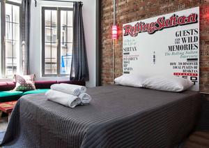 loft风格公寓卧室设计