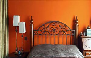 室内卧室床饰设计