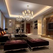 欧式室内软质沙发效果图