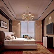 中式卧室电视背景墙