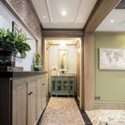 三室一厅玄关走廊装饰