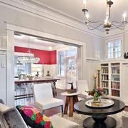 欧式简约风格客厅灯饰设计