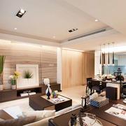 现代简约风格客厅茶几装饰