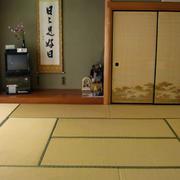 日式简约风格榻榻米房背景墙设计