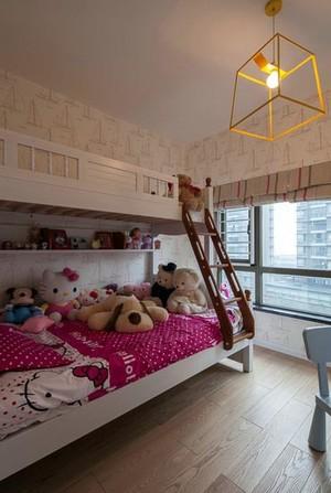 受欢迎的色彩炫丽活力四射的儿童房装修效果图