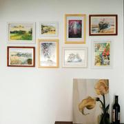 现代简约风格照片墙装饰