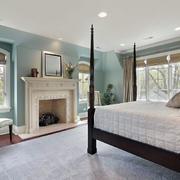 美式简约风格卧室装修