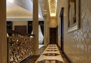 欧洲文化长廊 欧式风格过道装修效果图展示