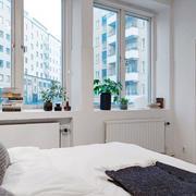 后现代风格简约婚房卧室装饰