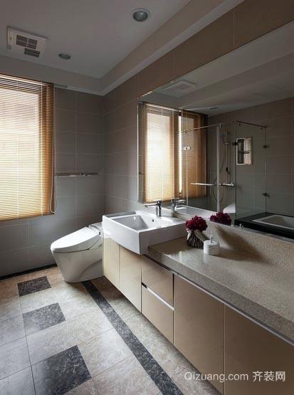 小资人家:中等户型的卫生间装修图片欣赏
