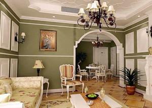 不一样的奢华:欧式奢华风精致客厅装修效果图