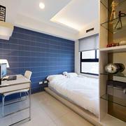 内软装卧室置物架设计