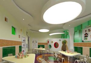 活泼唯美的欧式风格幼儿园装修效果图