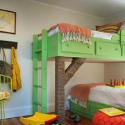 欧式果绿色清新儿童房