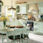 地中海风格开放性厨房装饰